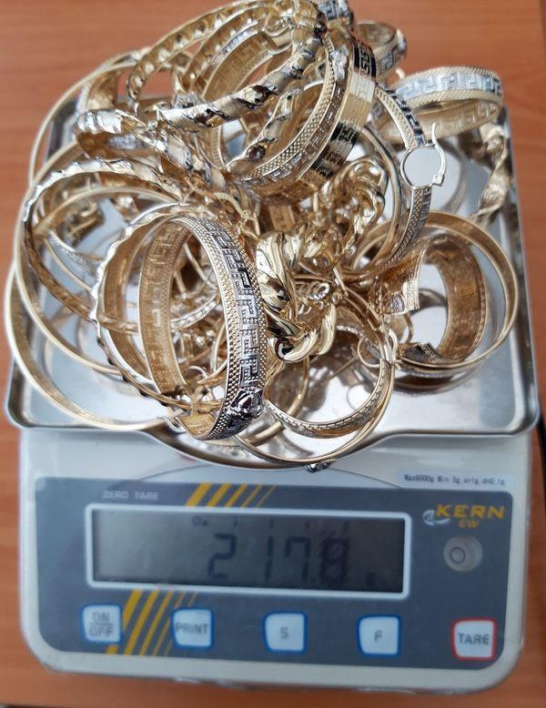 контрабандно злато лекарствени опаковки