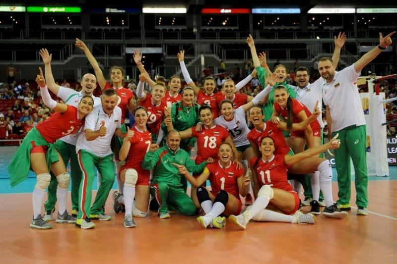 български национален волейболен отбор жени
