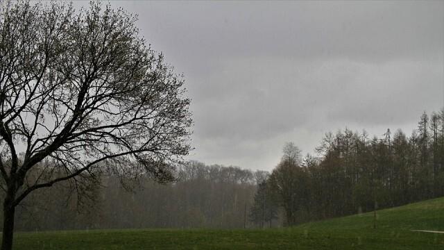 Март започва с дъжд и сняг и нахлуване на студен въздух
