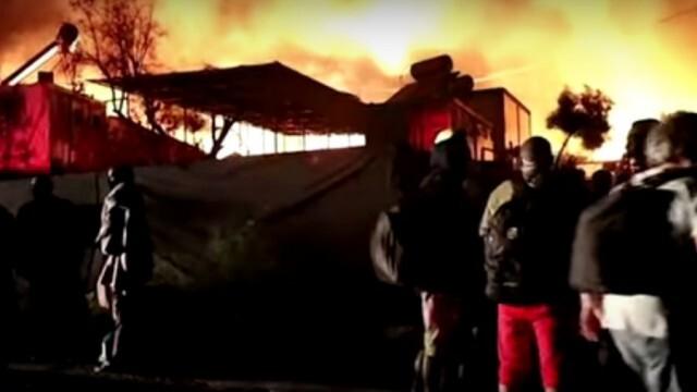 Хуманитарна криза след пожара в най-големия бежански лагер в Гърция