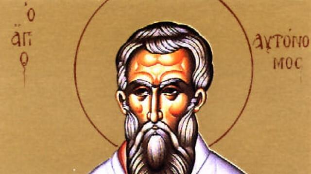 На Отдание на Рождество Богородично честваме св. свещеномъченик Автоном