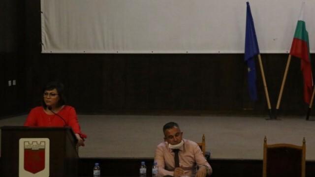 Нинова разкри проблемите в БСП и призова за общ фронт с други партии и организации срещу властта