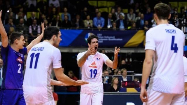 Франция взе волейболната квота за Токио след 3:0 срещу Германия насред Берлин