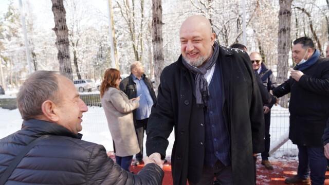 Красен Кралев представи листата на ГЕРБ-СДС в Сливо поле и Две могили