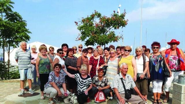 Пенсионерски клуб зарадва членовете си с почивка на море
