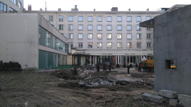 """Разширяват хотел """"Дунав""""  с нощен бар, Спа и подземен паркинг"""