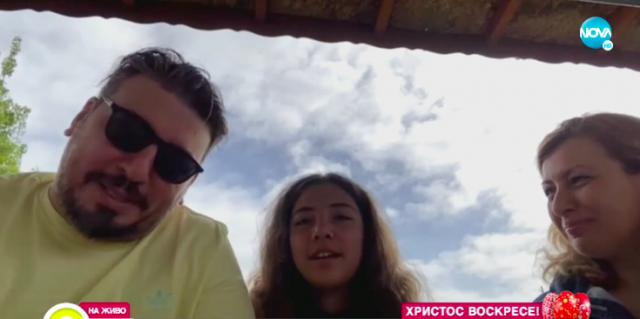 Герасим Георгиев-Геро посреща Великден с приятели в с. Червена вода (ВИДЕО)
