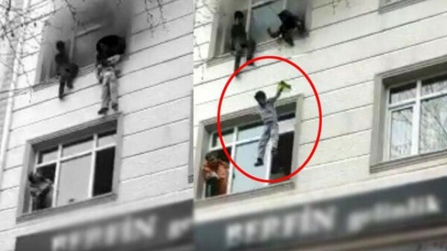 Драматично! Майка хвърли четирите си деца от прозореца на 3-я етаж, за да ги спаси от пожар