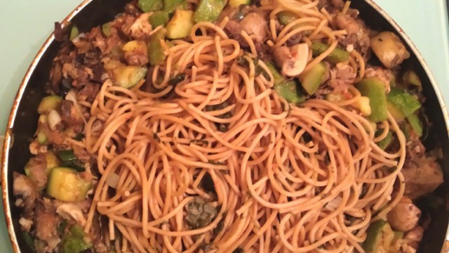 Спагети по гергьовски и постна агнешка чорба