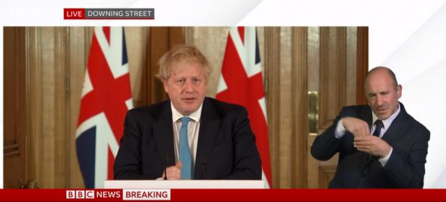 Борис Джонсън обяви затягане на мерките във Великобритания