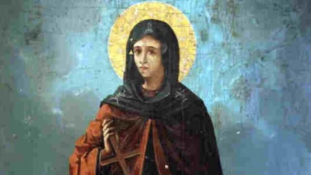 Православната църква почита св. великомъченица Неделя