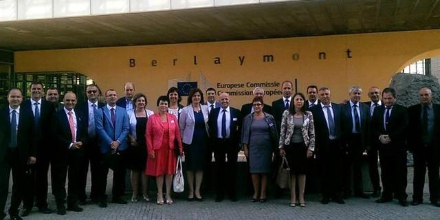 Губернаторът на Плевен с тридневно работно посещение в Брюксел