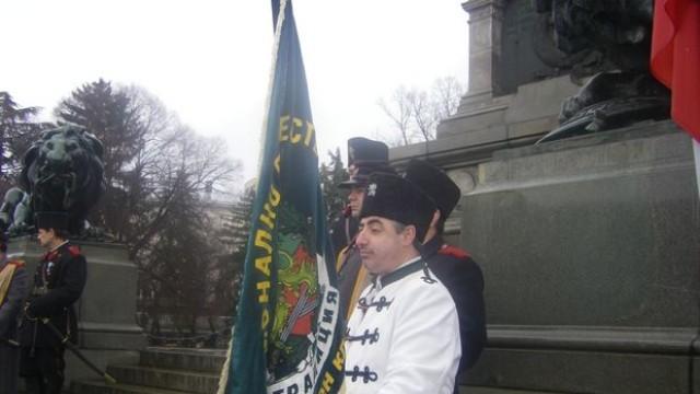 Русе чества 3 март с четници, военни, духовенство и граждани