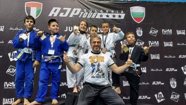 """Отличия за русенското жиу-жицу от """"AJP Tour Bulgaria National Pro 2021"""""""