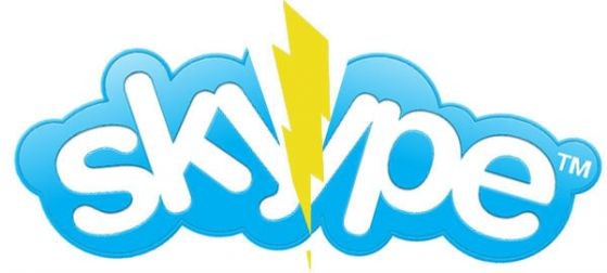 Skype спря, повредата не е