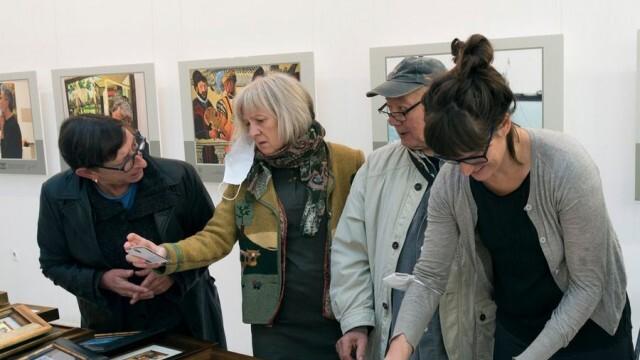 Творци от 3 континента участват с миниатюри на биеналето в Русе