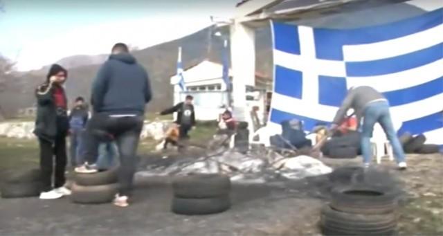 Гърция строи бежански лагер на 15 км от България, местни жители протестират