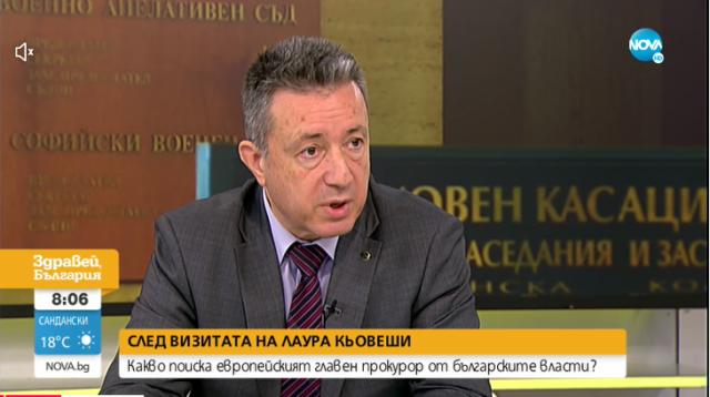 Янаки Стоилов: Кьовеши очаква сътрудничество с прокуратурата и с други органи в страната