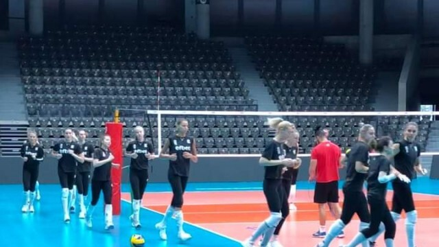 Волейболистките ни с първа тренировка в Русе преди мачовете от Златната лига