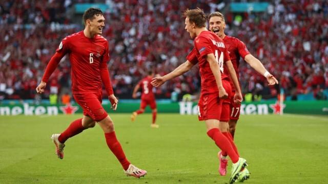 Англия победи Дания с 2:1, отива на финал с Италия