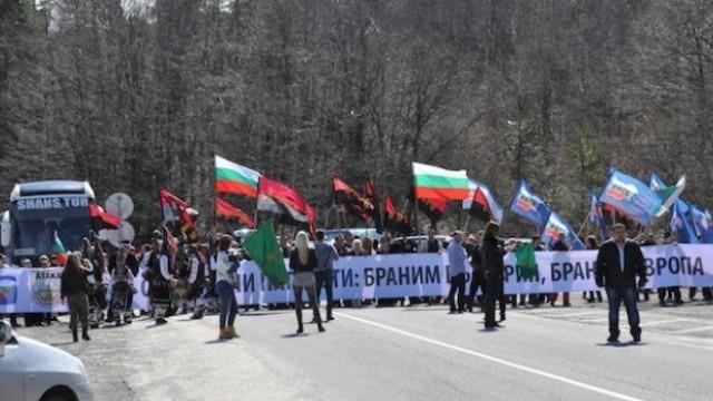 Протестите на граничния пункт Капитан Андреево срещу т. нар.