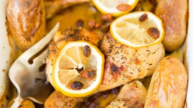 Пиле с лимон по италиански