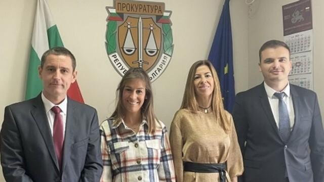 ОП – Плевен посрещна чуждестранни прокурори по линия на европейска програма