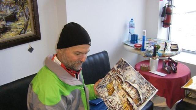 Марчел Ямелиев: Най-добре ми е, когато рисувам, това е моя карма