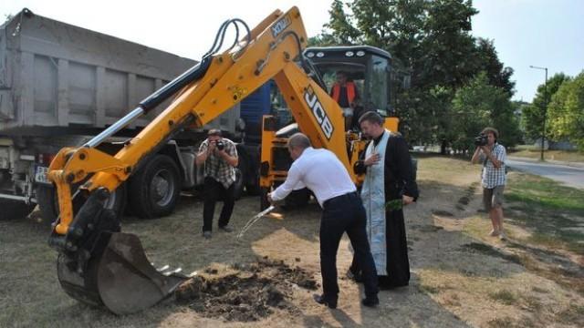 """Русе:  Започва изграждането на нови улици, спирки и кръстовища в кв. """"Чародейка"""""""
