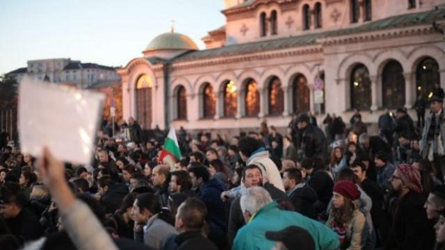 Стотици на протест срещу Волен Сидеров