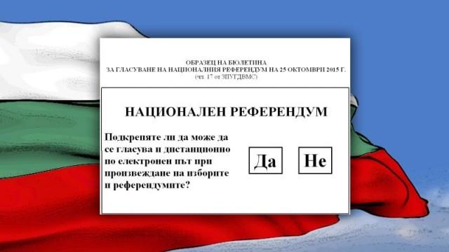 Близо 80% от участвалите в референдума русенци са за мажоритарен вот
