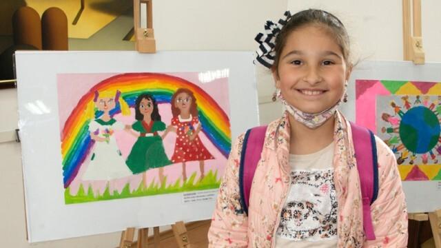 Деца от цялата страна нарисуваха и описаха Доброто у хората