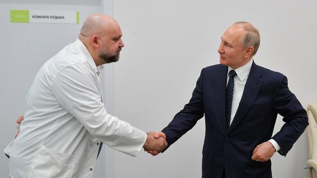 Путин в самоизолация след ръкуване с лекар, заразен с коронавирус