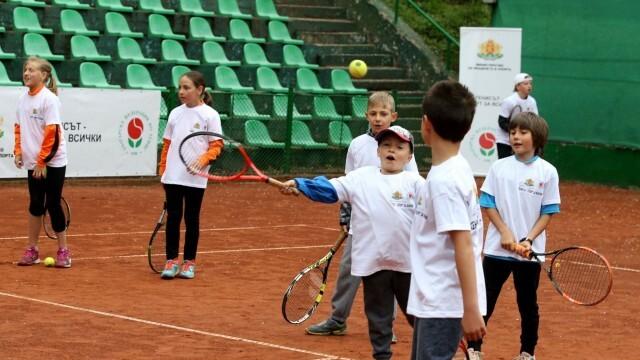 Безплатни тренировки по тенис за деца от 6 до 12 г. в Русе