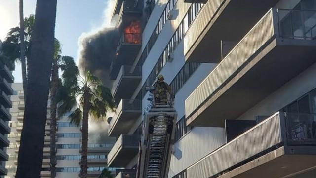 Пожар горя в сградата, в която живее българският консул в Лос Анджелис