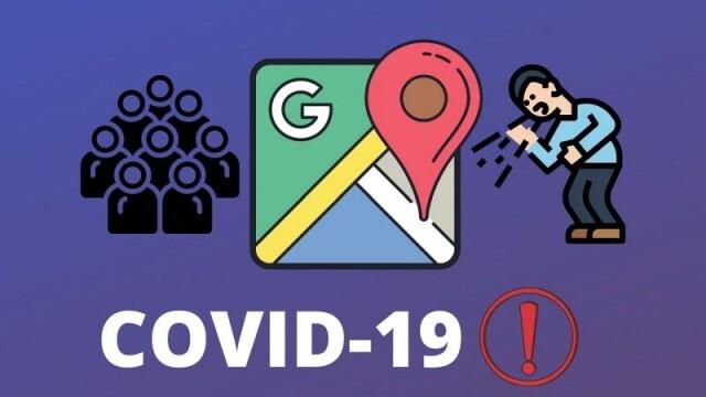 Google Maps ще показва къде и колко са активните случаи на COVID-19
