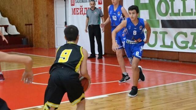 Баскетболен талант на