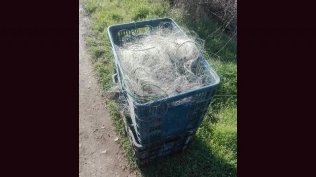 Инспектори от ИАРА - Плевен заловиха нарушител, извършващ стопански риболов