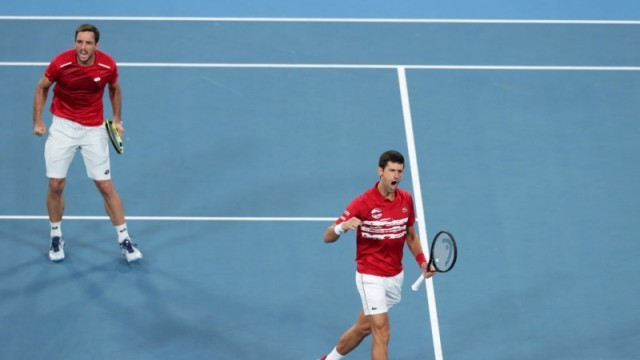 Джокович и Сърбия повалиха Надал и Испания за титлата на ATP Cup в Сидни