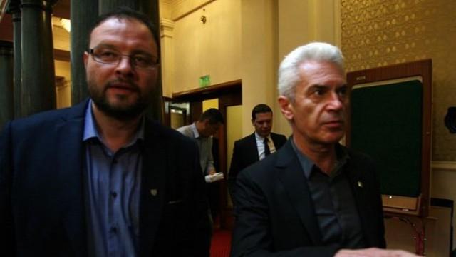 Парламентът разреши арест на Сидеров и Чуколов