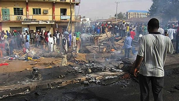 Нигерия: Трето дете-камикадзе за 2 дни, 12-годишна уби 16 души на пазар