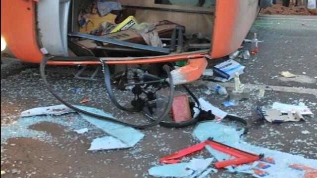 Автобус с българи е катастрофирал в Истанбул