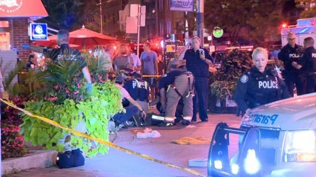 13 ранени и загинала жена при стрелба в Торонто