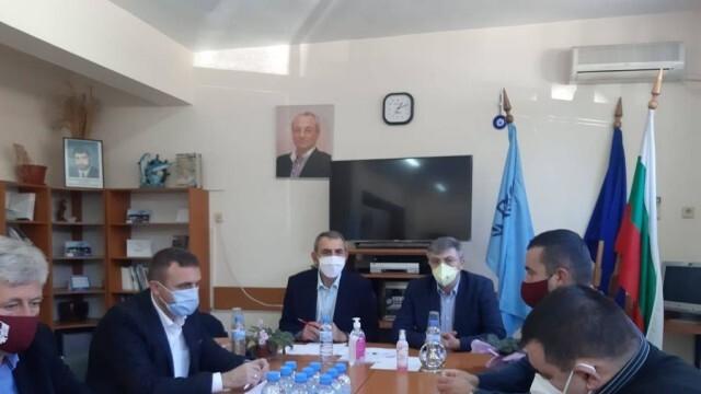 Мустафа Карадайъ  проведе работна среща с общинските председатели в Русенско
