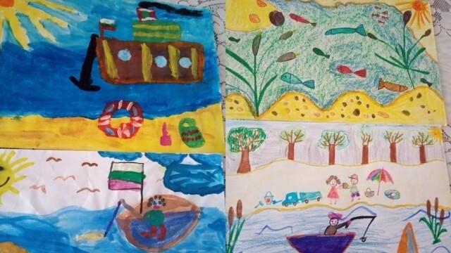 "Обявиха резултатите от конкурса за детска рисунка ""Дунавски мечти"""