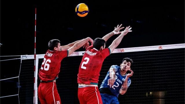 България с осма загуба във Волейболната лига на нациите