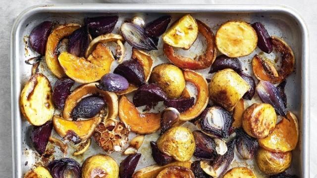 Печени зеленчуци с мед  - алтернатива за  вегетарианска коледна трапеза