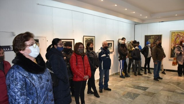 В художествената галерия в Ловеч беше открита изложба, посветена на 148 г. от гибелта на Левски