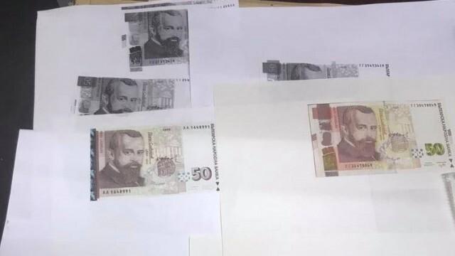 Русенски полицаи разбиха печатница за фалшиви пари, двама са задържани