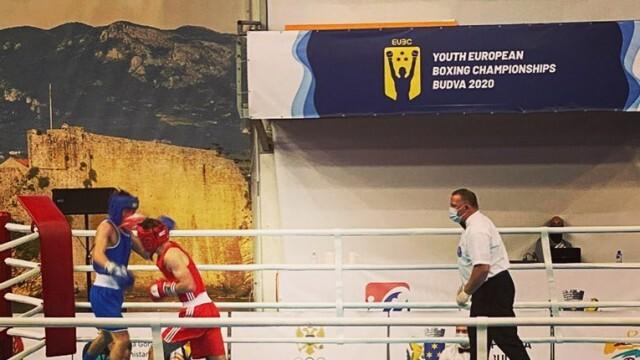 Русенска загуба на европейското по бокс в Черна гора